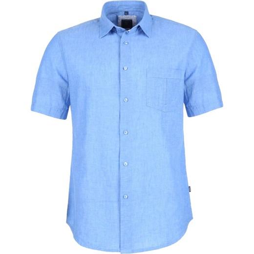 5701d9417 ... Koszula KS380 len z bawełną niebieski melanż Roy XL Sklep ROY okazyjna  cena