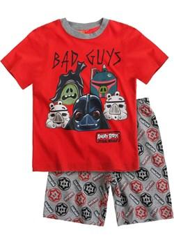 Piżama dziecięca dla chłopca krótki rękaw Angry Birds Star Wars rozmiar 116 (czerwona góra) piccolino-sklep-pl pomaranczowy abstrakcyjne wzory - kod rabatowy