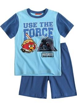 Piżama dziecięca dla chłopca krótki rękaw Angry Birds Star Wars rozmiar 116 (niebieska góra) piccolino-sklep-pl niebieski aplikacje - kod rabatowy