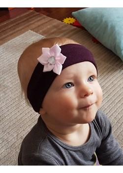 Opaska niemowlęca bawełniana bordo Piccolino  piccolino-sklep.pl - kod rabatowy