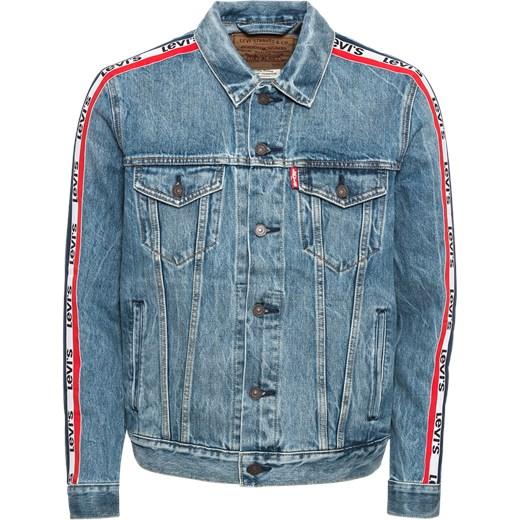 2bafde3c93606 Kurtka męska Levis z jeansu z napisem młodzieżowa w Domodi