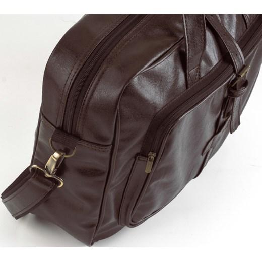 ffc945e5c27da ... SOLIER S10 oldschool brązowa torba męska na ramię