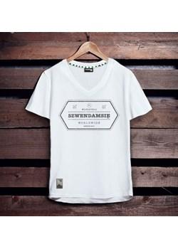 Koszulka męska Szwendam się - pieczątka M szary Szwendam Się  - kod rabatowy