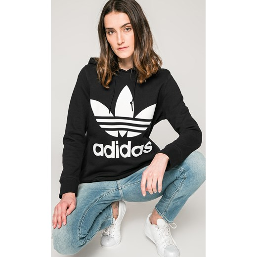 Adidas Bluza Damska bawełniana czarna