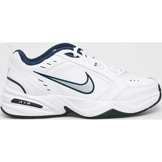 Buty sportowe męskie białe Nike wiązane skórzane
