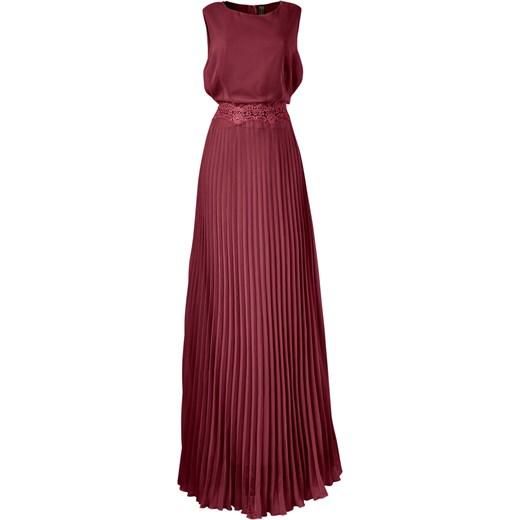 50916c9563 Sukienka bonprix czerwony boho w Domodi