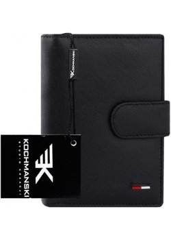 Skórzany portfel męski Kochmanski RFID stop 1161  Kochmanski Studio Kreacji® Skorzany - kod rabatowy