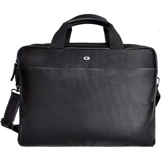 e50eee70c607f Skórzana torba na laptopa DAAG Albedo 1 czarna Skorzana.com w Domodi