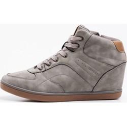 bf0648d887d97 Sneakersy damskie Diverse sznurowane młodzieżowe zamszowe