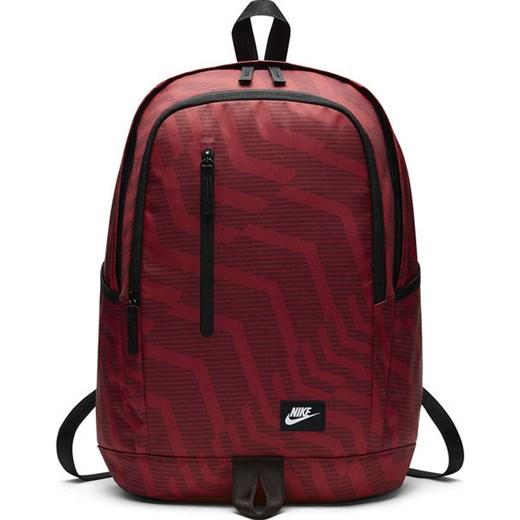a41eb3b1825c1 Plecak All Access Soleday Print 26L Nike (bordowy print) Nike okazyjna cena  SPORT-