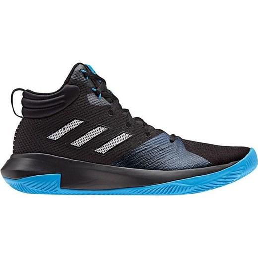 Buty koszykarskie Pro Elevate Adidas (czarno niebieskie)