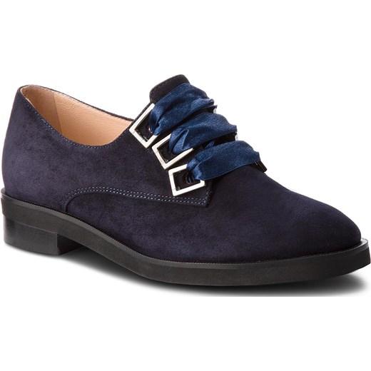 Baldowski modrakowe sneakersy botki r. 38,40