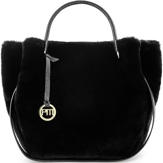 a08cdee8ca2d3 Czarna torebka z włosiem MACIONNE Primamoda w Domodi