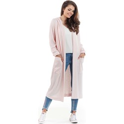 c642e66f8b7954 Różowe swetry damskie kaptur, lato 2019 w Domodi