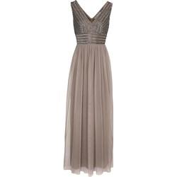 daee05ba6a Sukienka Heine z aplikacją z tiulu
