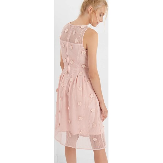7ed867478f Sukienka siateczkowa z kwiatami 3D ORSAY orsay.com w Domodi
