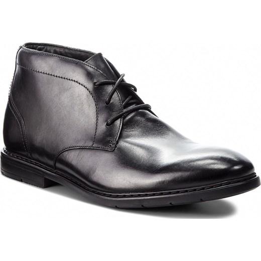 785254b9 Trzewiki CLARKS - Banbury Mid 261354247 Black Leather Clarks 43 eobuwie.pl