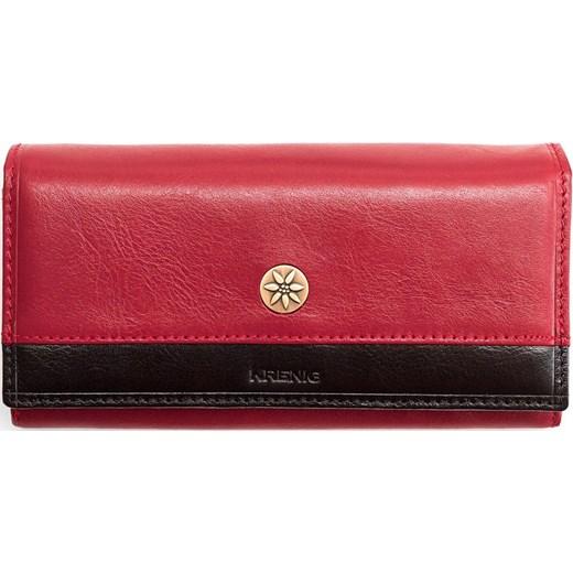 14d85ac6d2599 Skórzany portfel damski KRENIG Scarlet 13051 czerwony Krenig Skorzana.com  ...
