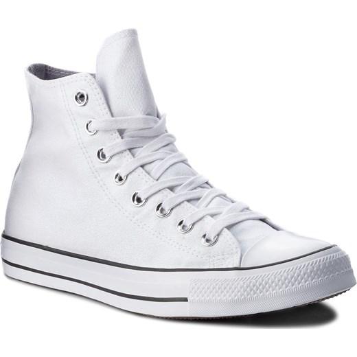 a3e6a7208b047 Trampki CONVERSE - Ctas Hi 561709C White/White/Black eobuwie.pl w Domodi