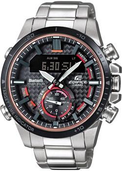 Zegarek męski CASIO ECB-800DB-1AEF - bluetooth Casio  alleTime.pl - kod rabatowy