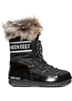 Moon Boot WE MONACO LOW czarny 87 S'portofino - kod rabatowy