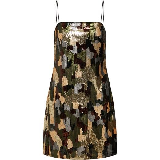 22cda94c1e Sukienka  23.03 WW CAMO SEQUIN MINI DRESS P100  New Look AboutYou w ...