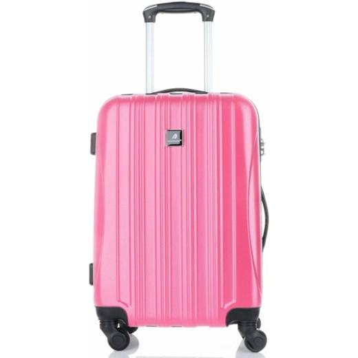 a659a00f7af2d ... Solidna Walizka z Kuferkiem renomowanej firmy Madisson Różowa (kolory)  Madisson wyprzedaż PaniTorbalska ...