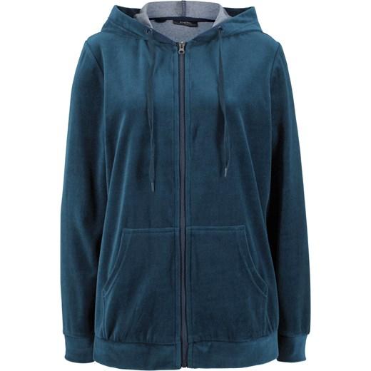 całkiem miło w sprzedaży hurtowej całkiem miło Bluza rozpinana z dzianiny welurowej nicki BPC Collection bonprix