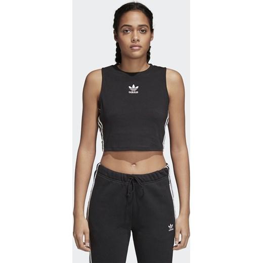 f29b38b8d Top sportowy Adidas Originals bez wzorów w Domodi