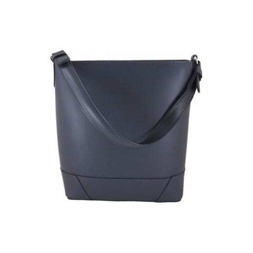 98298dc428f1f Shopper bag niebieska Barberini`s w Domodi
