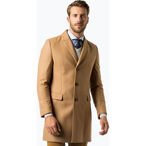 0037b93340ad2 Hugo Boss płaszcz męski. HUGO - Płaszcz męski – Migor1841, beżowy