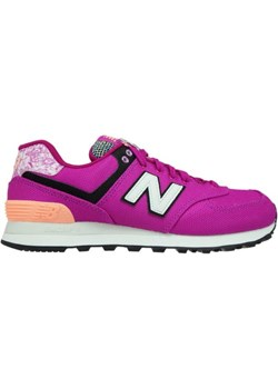 New Balance WL574ASD Poisonberry with Bleached Sunrise  New Balance Sneakers de Luxe - kod rabatowy