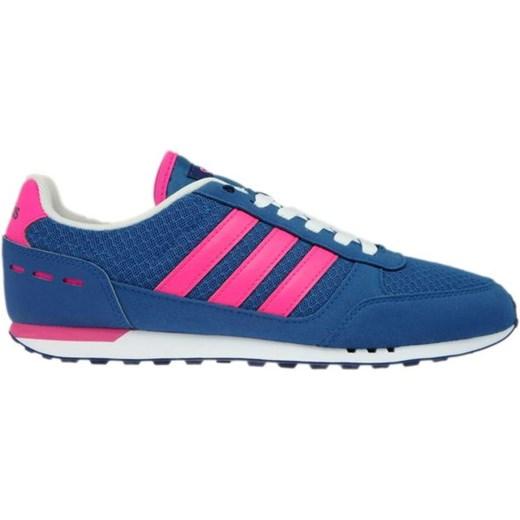 Buty sportowe damskie Adidas zx zielone płaskie bez wzorów z