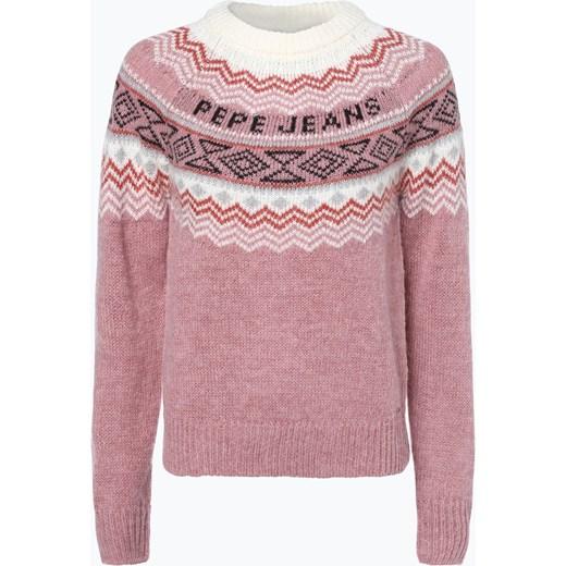 36bf0baa83ac0e Sweter damski Pepe Jeans różowy w Domodi