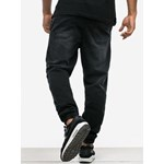 Name Pocket Stretch Jogger Baggy Jeans Black - zdjęcie produktu