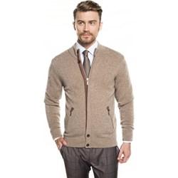 8dfaff5b Sweter męski brązowy Recman casualowy