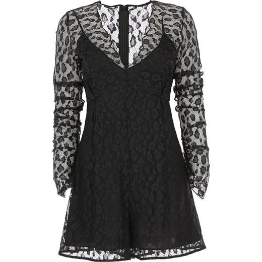 1ad34600df Sukienka Pinko elegancka z długimi rękawami midi na sylwestra w Domodi