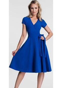 Sukienka VERA II Midi Szafir  Livia Clue  - kod rabatowy