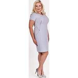 cd4635b4d5 Sukienki dla puszystych do pracy