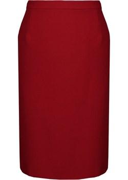Spódnica FSP641 CZERWONY fokus-fashion czerwony do pracy - kod rabatowy