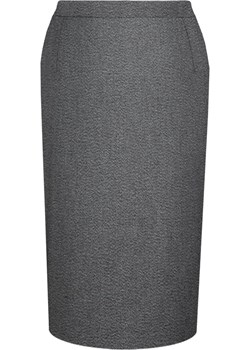 Spódnica FSP641 SZARY fokus-fashion szary guziki - kod rabatowy