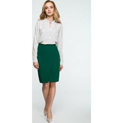 ba4d9043166b Spódnica Style midi bez wzorów