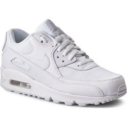 cheap for discount a3fac 23a1c Buty sportowe damskie Nike air max 91 białe płaskie gładkie ...