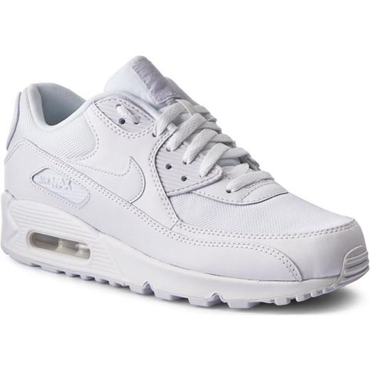 Buty sportowe damskie Nike air max 91 białe płaskie gładkie