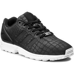 Buty sportowe damskie Adidas zx flux wiązane płaskie