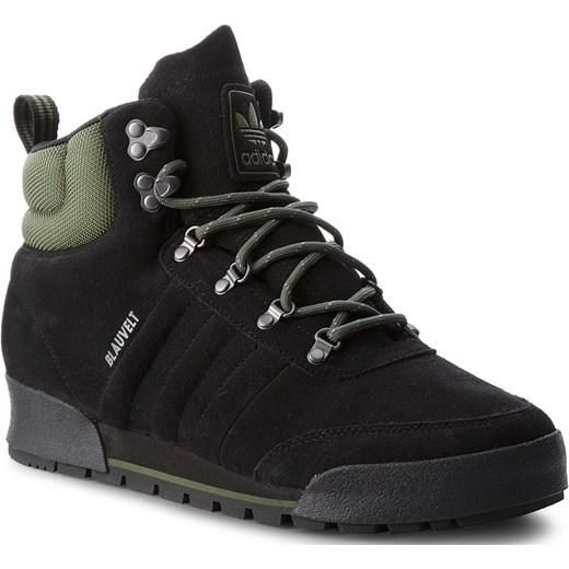 Buty zimowe męskie Adidas na zimę zamszowe