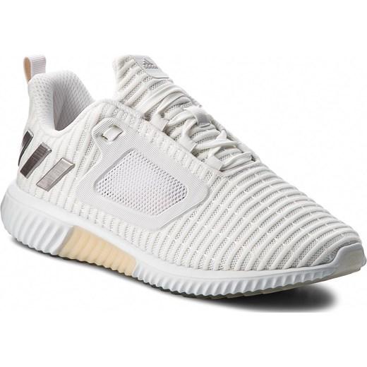 50a696db21f8 Buty sportowe damskie białe Adidas sznurowane płaskie z tworzywa sztucznego