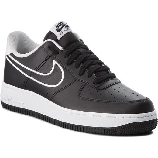 Buty sportowe męskie Nike air force ze skóry ekologicznej