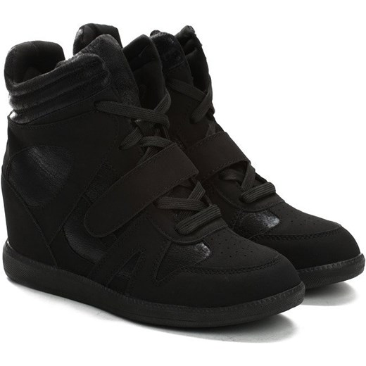 Czarne Sneakersy Figurative Multu czarny Multu.pl