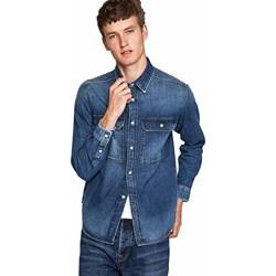 f75c760dd Koszula męska Pepe Jeans z klasycznym kołnierzykiem jesienna z długimi  rękawami